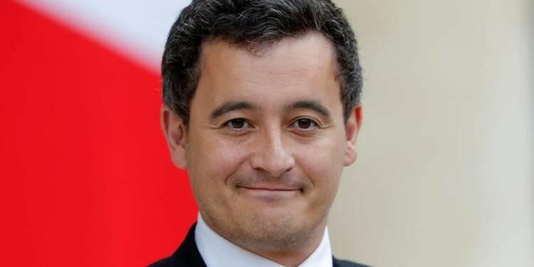 """Un député LR porte plainte contre Darmanin pour """"menace"""""""