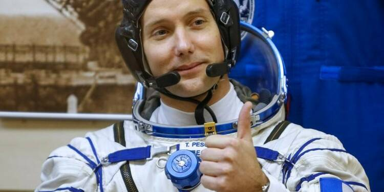 L'astronaute français Thomas Pesquet de retour sur Terre