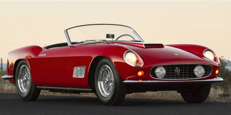 Ces 10 voitures de collection valent plus de 100 millions d'euros