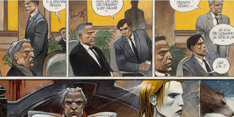 Bande dessinée : plus de 3 millions d'euros récoltés lors d'une vente aux enchères