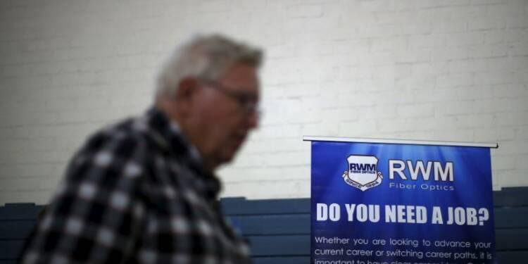 Ralentissement des créations d'emplois aux Etats-Unis, chômage à 4,3%