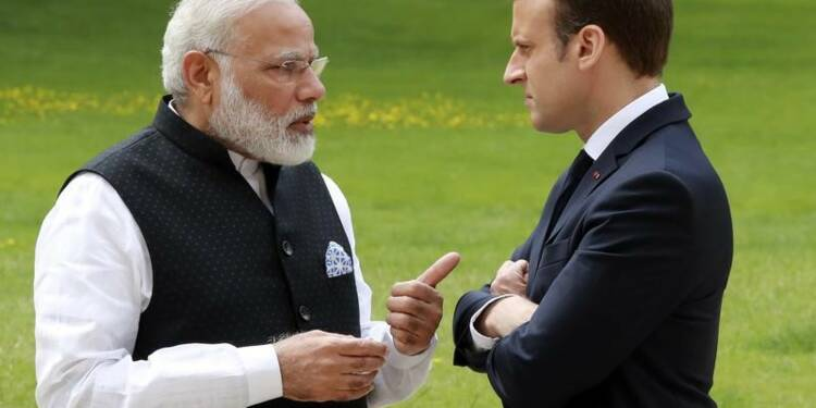 Climat: Paris et New Delhi réaffirment leur volonté d'agir