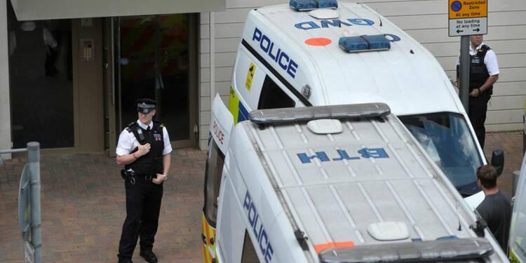 Opération policière dans l'est de Londres