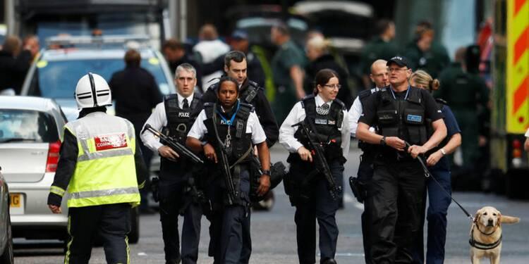 L'attentat de Londres a fait sept morts, dit la police