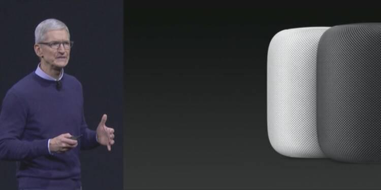Envoi d'argent entre particuliers, iOS 11 et HomePod... Apple dévoile ses nouveautés
