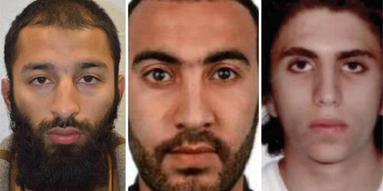 Les assaillants de Londres identifiés à deux jours des élections