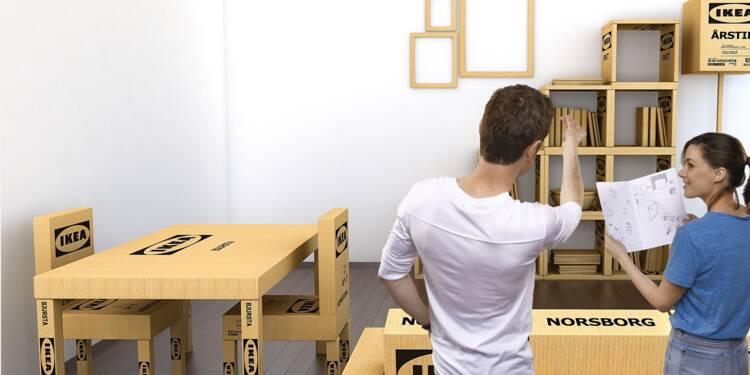 Jusqu'où Ikea montera-t-il ?