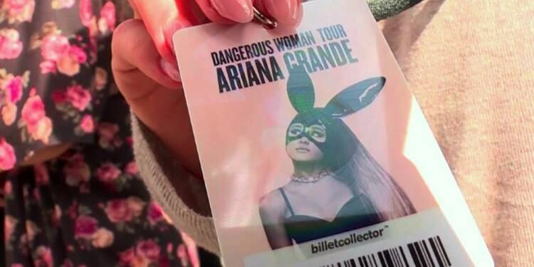 Ariana Grande reprend sa tournée à Paris, sous haute sécurité