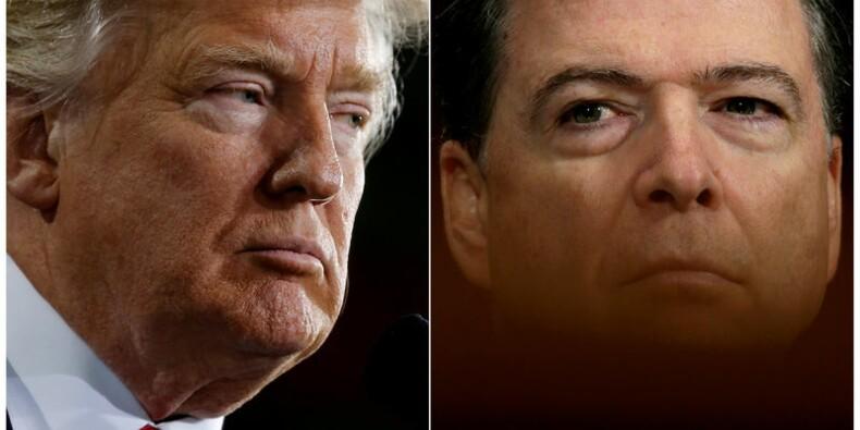 L'ex-chef du FBI affirme que Trump a fait pression sur lui