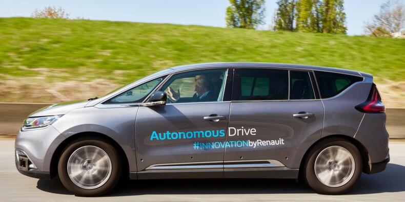 Vous pourrez rouler en voiture autonome Renault dès 2020