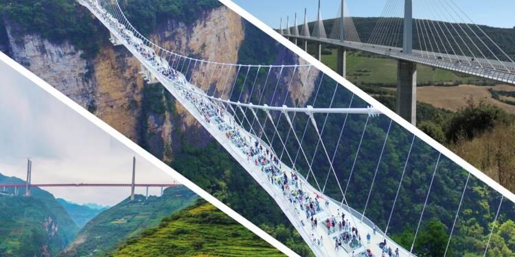 Ces ponts qui détiennent des records du monde