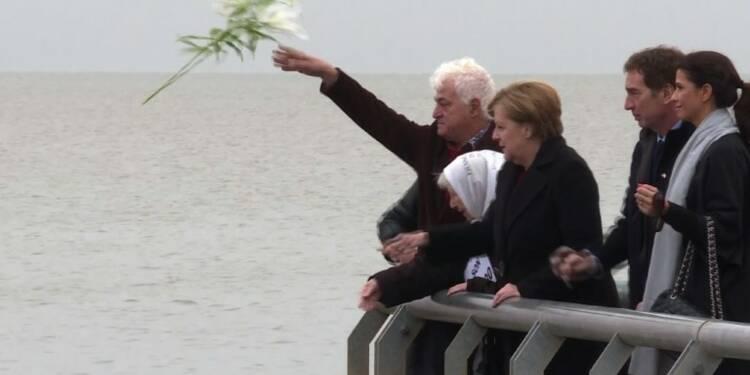 Merkel rend hommage aux victimes de la dictature en Argentine