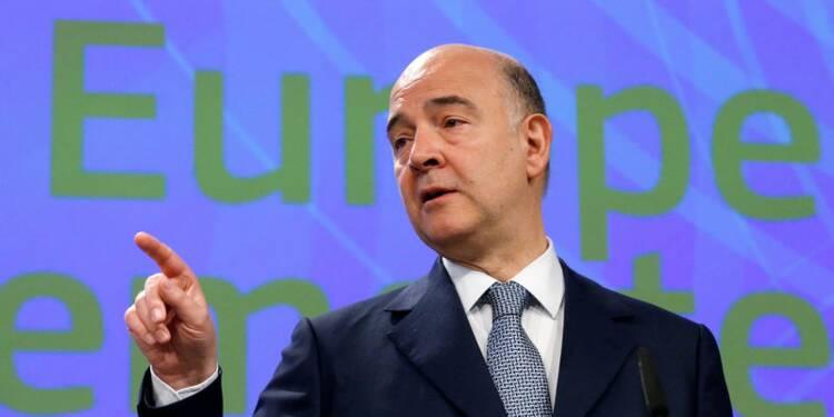 Le pari perdu de May pas sans impact sur les négociations, dit Moscovici