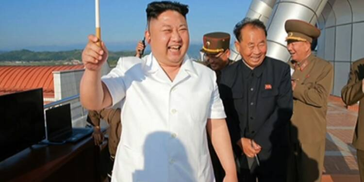 Pyongyang revendique l'essai réussi d'un nouveau missile sol-mer