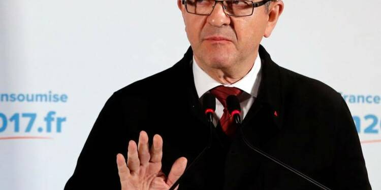 """Mélenchon dénonce une """"majorité de circonstance"""""""