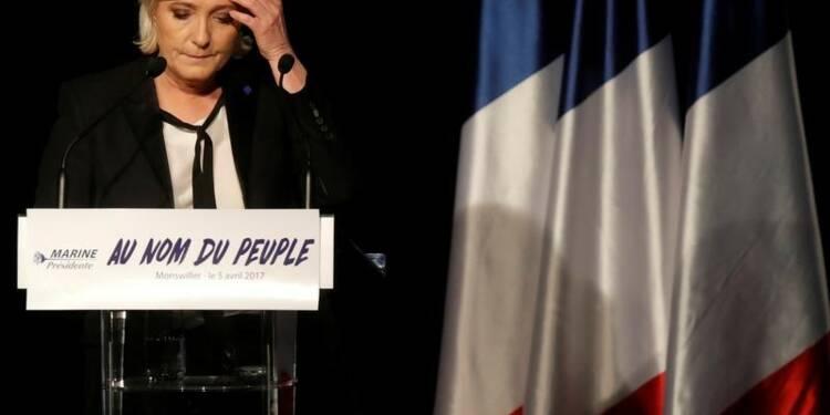 """Le Pen face aux limites de la """"dédiabolisation"""""""