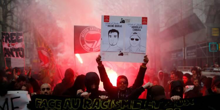 Des débordements en marge d'une manifestation à Paris