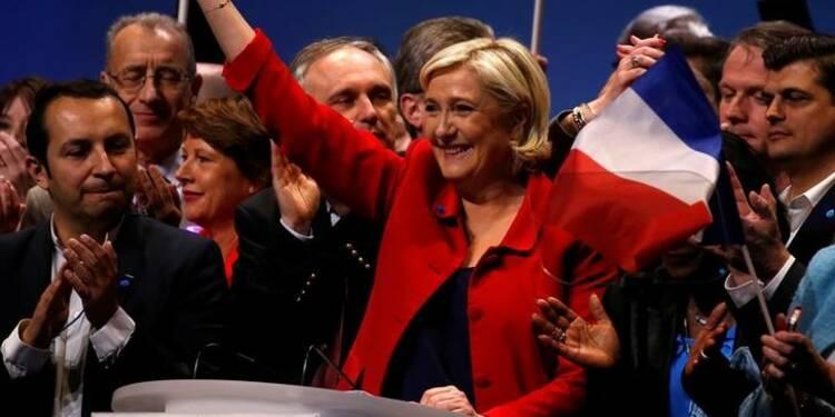 Sondage de la présidentielle : Macron et Le Pen à égalité, Fillon et Mélenchon dans un mouchoir de poche