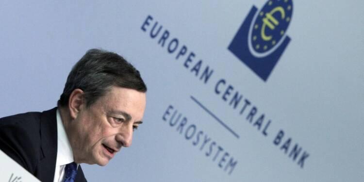 BCE: pas de hausse des taux avant la fin du programme d'achats d'actifs