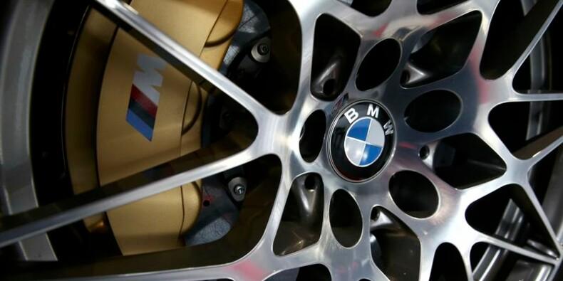 BMW vise des ventes record et un profit en hausse en 2017
