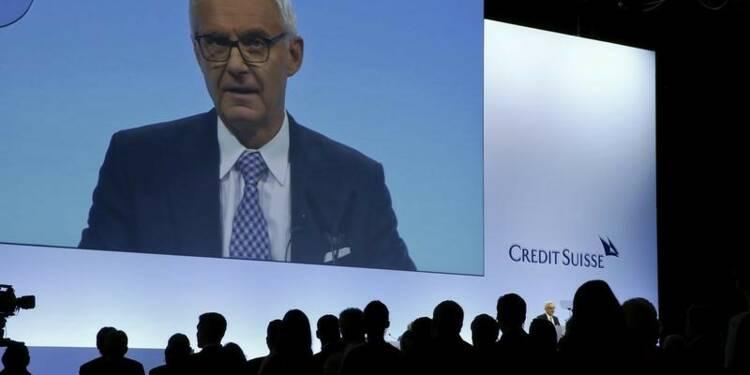 Le président de Credit Suisse temporise sur l'IPO de la filiale suisse