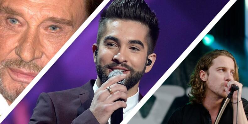 Renaud, Johnny Hallyday, Maître Gims... le palmarès des chanteurs les mieux payés