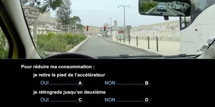 Code la route, question 15 : feu rouge
