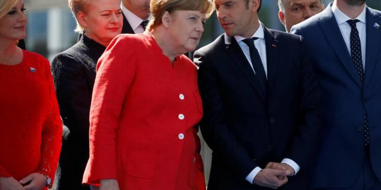 Merkel félicite Macron pour son succès aux législatives