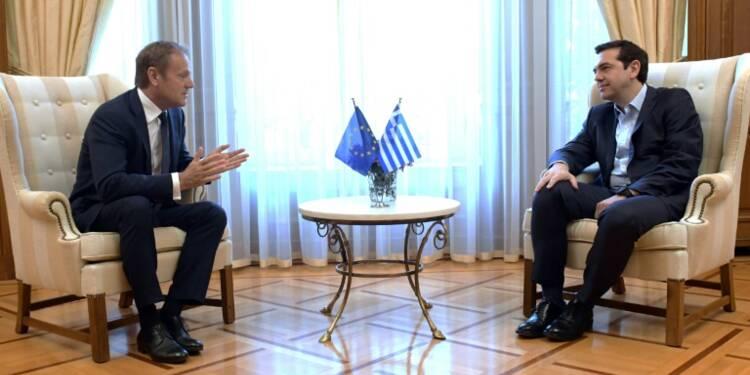 Grèce/dette: Tsipras fait monter la pression pour un accord à l'Eurogroupe