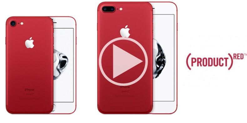 L'iPhone 7 et l'iPhone 7 Plus virent au rouge