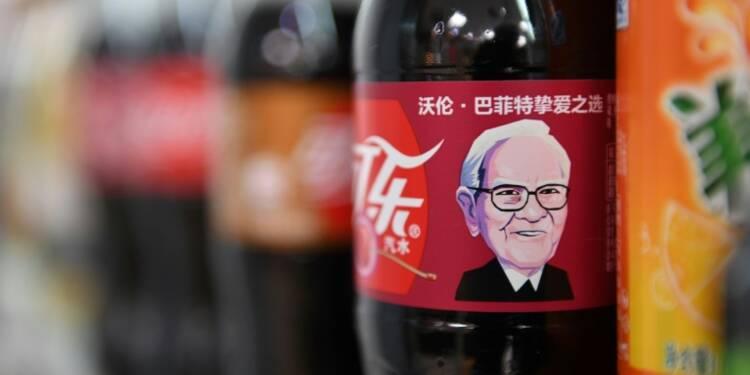 Le milliardaire Warren Buffet fait de la pub pour Coca en Chine