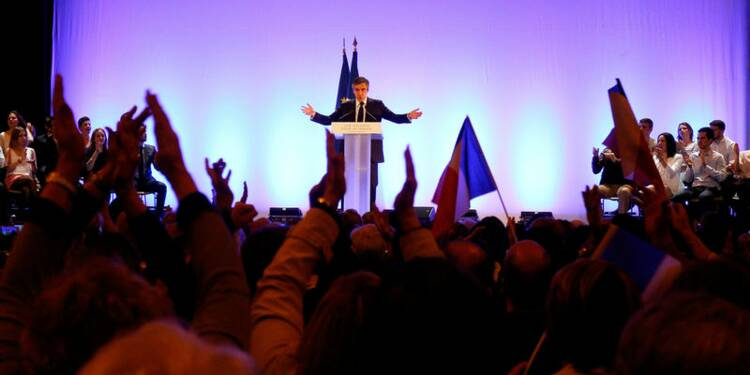 """""""Parlons projet"""": Fillon lance la dernière phase de sa campagne"""