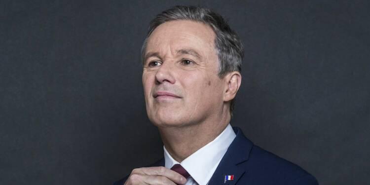 2,4 millions d'euros, 6 appartements, une statue… Nicolas Dupont-Aignan est bien le candidat le plus riche