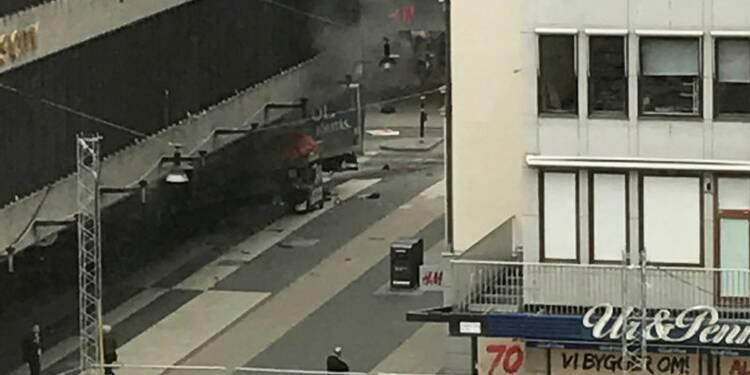 Quatre morts dans une attaque au camion à Stockholm