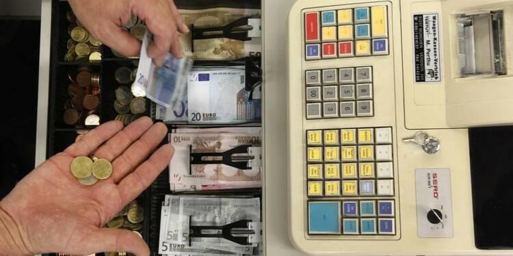 Les trois quarts des paiements effectués en espèces en zone euro