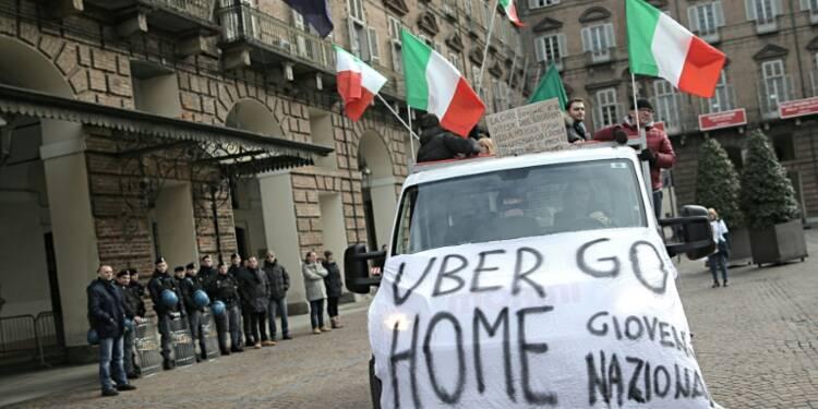 Italie: les chauffeurs Uber inquiets après l'interdiction