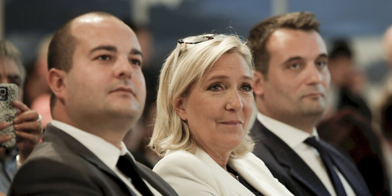 FN : Marine Le Pen a-t-elle fait bénéficier David Rachline d'un emploi fictif?