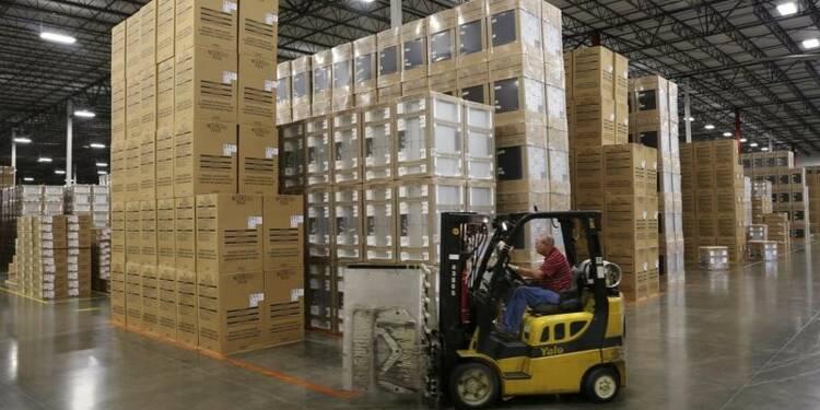Hausse des commandes à l'industrie pour le troisième mois d'affilée aux USA