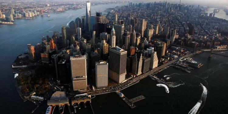 La croissance du 4e trimestre révisée à la hausse à 2,1% aux USA