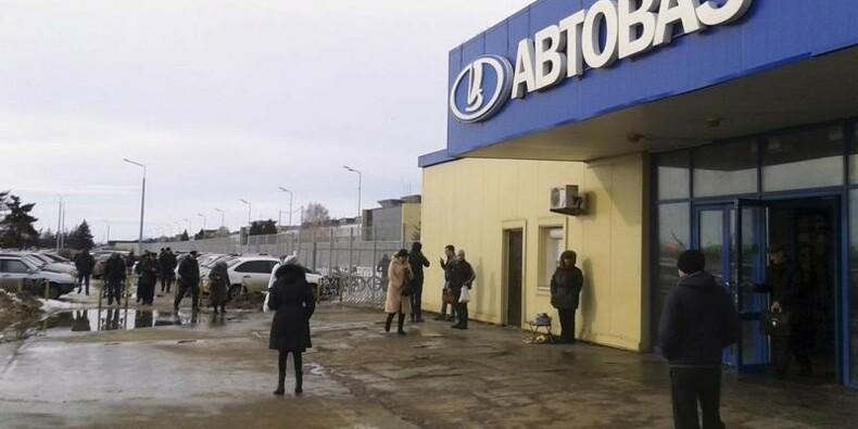 Le constructeur russe Avtovaz envisage un retrait de la cote