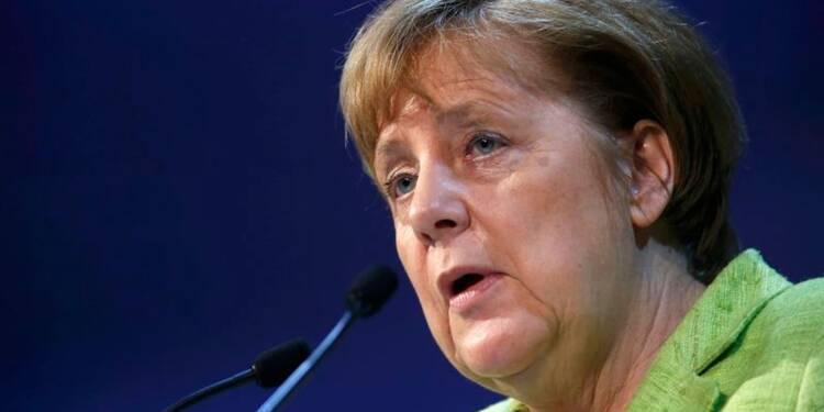 Merkel veut limiter les conséquences du Brexit