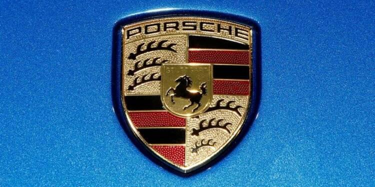 Porsche prévoit des bénéfices 2017 en forte hausse