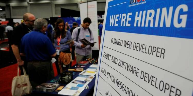 Net tassement des créations d'emplois en mars aux USA
