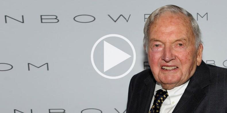 Décès de David Rockefeller à 101 ans