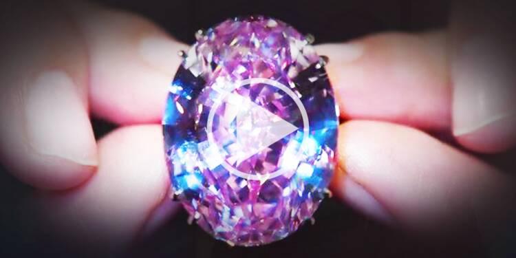 71,2 millions de dollars pour le plus cher diamant au monde