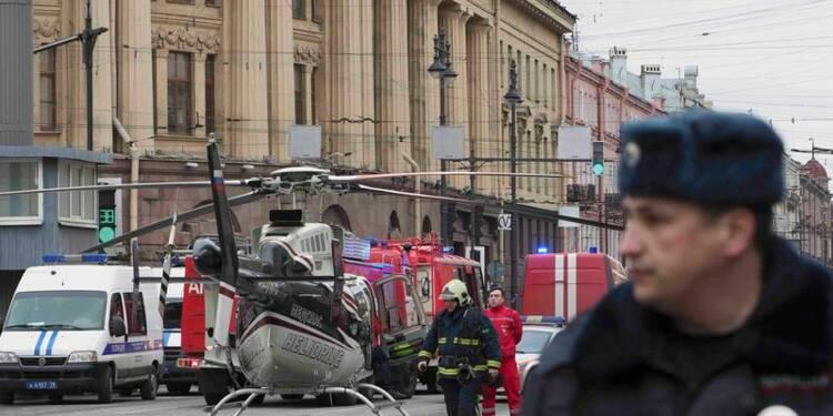 Attentat suicide présumé dans le métro de Saint-Pétersbourg, 11 morts