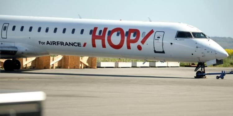 Hop! : personnel en grève, des dizaines de vols annulés