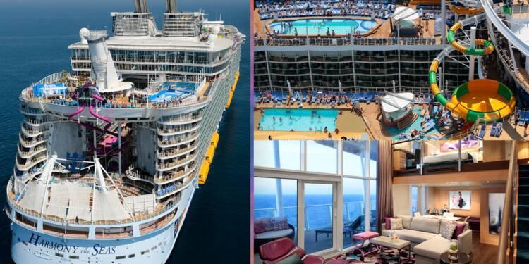 Harmony of the Seas, Queen Mary 2...voici les 15 plus grands paquebots au monde
