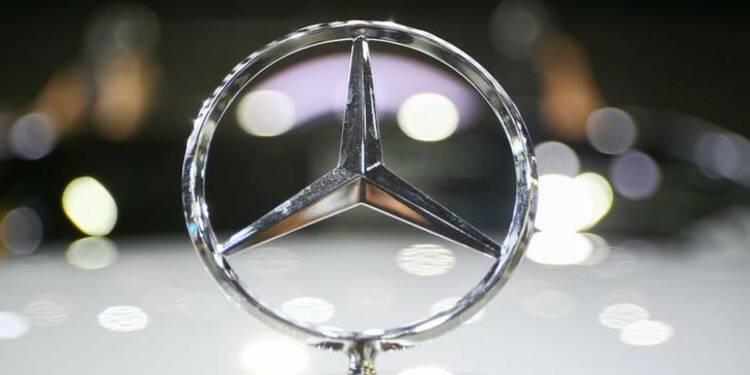 Daimler attend des ventes record de Mercedes-Benz au premier trimestre