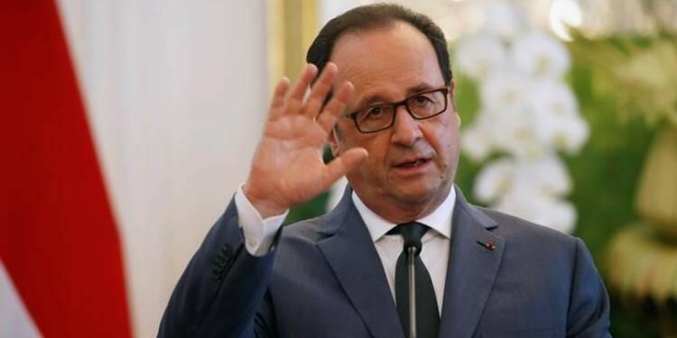 Les négociations doivent lever les incertitudes, dit Hollande à May